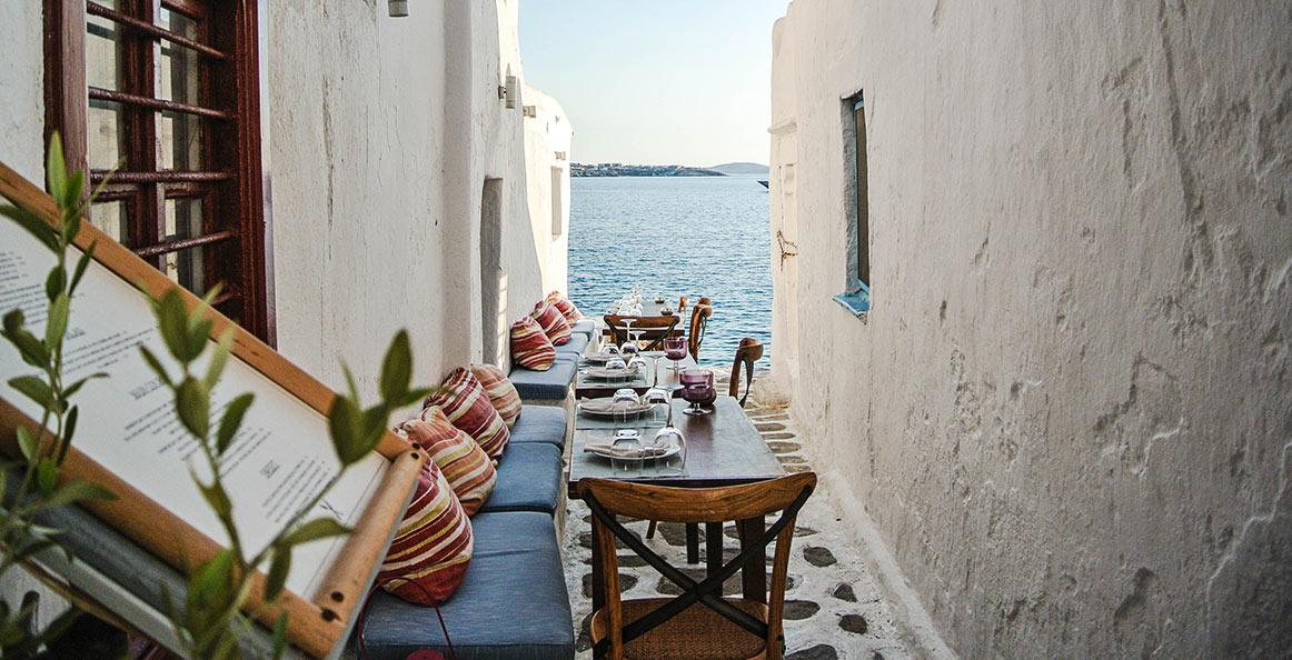 Kastros Mykonos Little Venice | Mykonos Restaurant